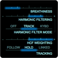 Zynaptiq ADAPTIVERB Harmonic Contour Filter Track Mode Parameters