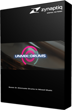 Zynaptiq UNMIX::DRUMS Box-Shot